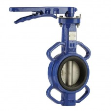 Cast Iron Manual Butterfly Valve with 316 Stainless Steel Disc